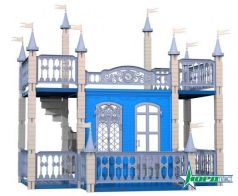 Замок для кукол Нордпласт Снежная Королева  593