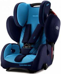 Автокресло Recaro Young Sport Hero (xenon blue)