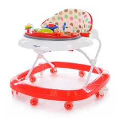 Ходунки Baby Care Sonic (white/red)