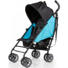 Коляска прогулочная Summer Infant 3D Flip Stroller (black/ocean blue 2L)