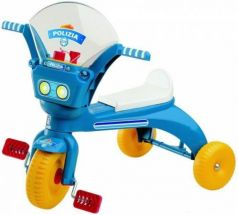 Велосипед трехколёсный Нордпласт Полиция синий  431009