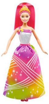 Barbie Радужная принцесса с волшебными волосами