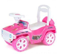 Каталка-машинка R-Toys Mini Formula 1 пластик от 10 месяцев на колесах розовый ОР856