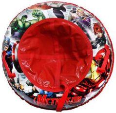 Тюбинг DISNEY MARVEL Мстители до 100 кг ПВХ разноцветный Т59057