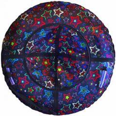 Тюбинг RT Звёзды до 120 кг ПВХ разноцветный