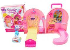Кукольный дом-чемоданчик