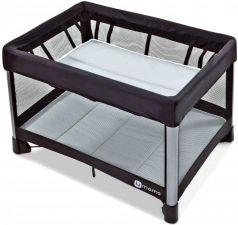 Манеж-кроватка 4moms Breeze 2 (серый)