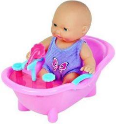 Крошка Тими в ванночке