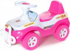 Каталка-машинка Orion Джипик 105_роз от 2 лет на колесах розовый