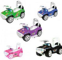 """Каталка-машинка Orion """"Ориончик"""" - Джип пластик от 8 месяцев на колесах цвет в ассортименте  419_черн"""