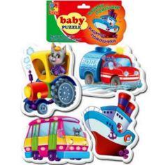 Baby puzzle Транспорт