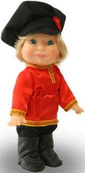 Веснушка в русском костюме мальчик