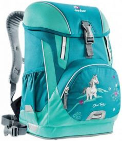 Школьный рюкзак Deuter OneTwo - Лошадка 20 л голубой 3830116-3037-0