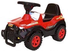 Каталка-машинка R-Toys Джипик пластик от 8 месяцев с клаксоном черный с красным 105