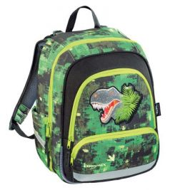 Ранец Step by Step BaggyMax Speedy Green Dino 16 л зеленый 138536