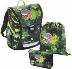 Ранец Step By Step BaggyMax Fabby Green Dino 3 предмета 138630