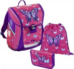 Ранец ручка для переноски Step by Step BaggyMax Fabby Sweet Butterfly 138520 18 л разноцветный рисунок