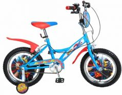 """Велосипед двухколёсный Navigator Супермен 16"""" разноцветный"""