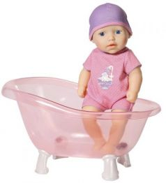 "Кукла ZAPF Creation ""Baby Annabell"" с ванночкой 30 см"