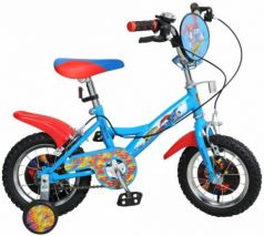 """Велосипед двухколёсный Навигатор Супермен KITE-тип 12"""" голубой-красный  ВН12100"""