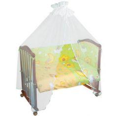 Бампер в кроватку Тайна Снов Сыроежкины сны (салатовый)