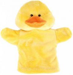 "Кукла на руку Жирафики ""Утенок"" 25 см  939437"