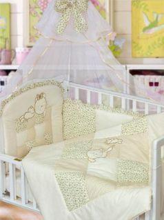 Комплект в кроватку Золотой Гусь Кошки-Мышки (бежевый)