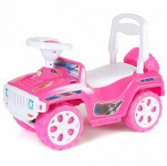 Каталка-машинка Orion Ориончик пластик от 2 лет на колесах розовый  419_розовая
