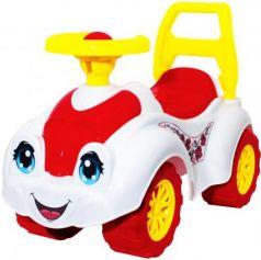 Каталка-машинка ТехноК Автомобиль для девочек 3503 пластик от 1 года на колесах разноцветный