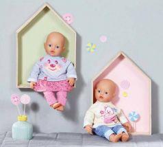 Одежда для кукол Zapf Creation my little BABY born Комплект одежды для дома в ассортимент