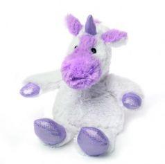 Мягкая игрушка-грелка единорог Warmies Cozy Plush Единорог 24 см белый сиреневый текстиль семена просо