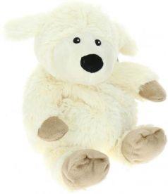 Мягкая игрушка-грелка овечка Warmies Cozy Plush Овечка белый текстиль искусственный мех CP-SHE-1