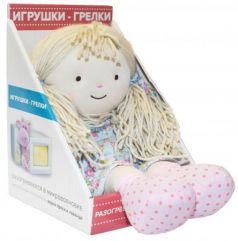 Мягкая игрушка-грелка Warmies Warmhearts - Кукла Оливия 30 см разноцветный текстиль RD-OLI-1