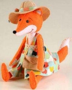 Набор для создания игрушки Перловка Модная Алиса ПФЗД-1008