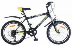 """Велосипед двухколёсный Top Gear Parcours 210 ВН20063 20"""" черно-желтый"""