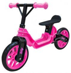 "Беговел двухколёсный RT Hobby bike Magestic 10"" розово-черный"