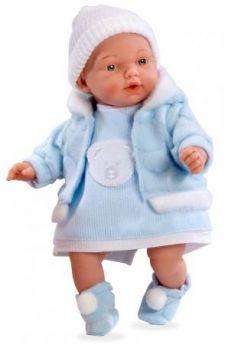 Кукла Arias Elegance - Hanne в голубом костюме 28 см