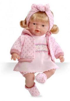 Elegance - Блондинка в розовой одежде (плачет)