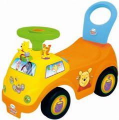 Каталка-машинка Kiddieland Винни пластик от 1 года музыкальная желтый