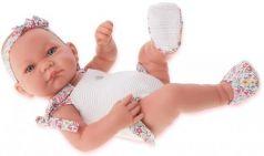 """Кукла-младенец Munecas Antonio Juan """"Ника"""" 42 см в белом 5007W"""