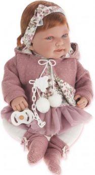 Кукла Munecas Antonio Juan Саманта в розовом 40 см 3370P