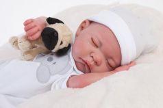 """Кукла-младенец Munecas Antonio Juan """"Реборн"""" - Рамон 40 см спящий, 8108"""