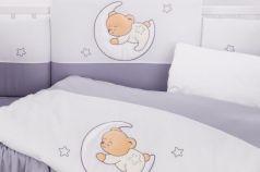 Сменный комплект постельного белья 3 предмета 125х65см Lepre Amore (цвет 33 серый)