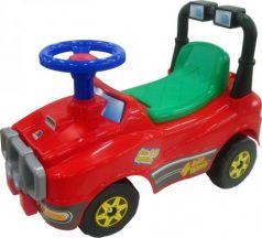 Каталка-машинка Molto Джип №2 пластик от 1 года на колесах красный 62888