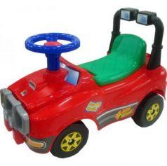 Каталка-машинка Molto Джип пластик от 1 года с гудком красный 62857