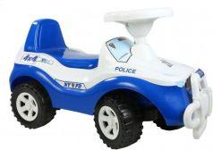 Каталка-машинка Orion Джипик 105_полиция от 2 лет на колесах бело-синий