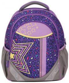 Рюкзак с анатомической спинкой Tiger Enterprise CHAMP TWINKLE STARS 21 л фиолетовый рисунок