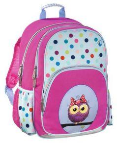 Рюкзак HAMA Sweet Owl 14 л розовый голубой