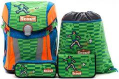 Ранец с наполнением Scout Sunny Basic Футбол 15 л зеленый рисунок 734107-988