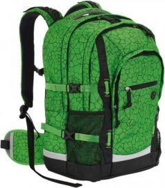 Рюкзак ортопедический 4YOU Jumpac Зеленая абстракция 30 л зеленый 115501-887